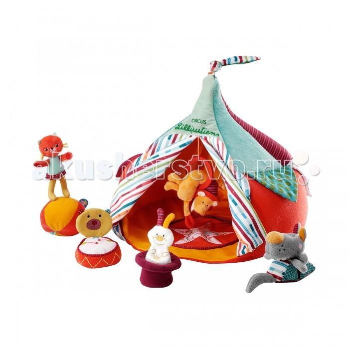 Мягкая игрушка Lilliputiens Набор Цирк и акробаты