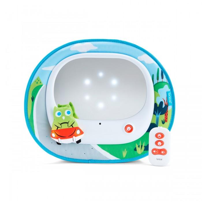 Munchkin Волшебное зеркало контроля за ребёнком в автомобилеВолшебное зеркало контроля за ребёнком в автомобилеВолшебное зеркало контроля за ребенком в автомобиле Munchkin  режим 1: развлекательный режим 2: успокаивающий зеркало имеет особенную волшебную подсветку, которая развлекает малыша в пути 24 минуты веселых или успокаивающих мелодий подсветка рамки зеркала мягкая безопасная текстильная рамка без острых углов  На протяжении более 25 лет американская компания Munchkin работает над тем, чтобы избавить мир от надоевших прозаических товаров и облегчить жизнь каждого родителя, предлагая инновационные решения для ухода за малышом. Munchkin знает, что именно небольшие детали в жизни родителей и детей имеют решающее значение - все товары этой марки просты и понятны даже ребенку, при этом они способны превратить обыденные задачи в настоящее удовольствие!<br>