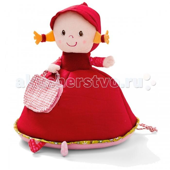 Мягкая игрушка Lilliputiens Красная Шапочка: музыкальная копилка