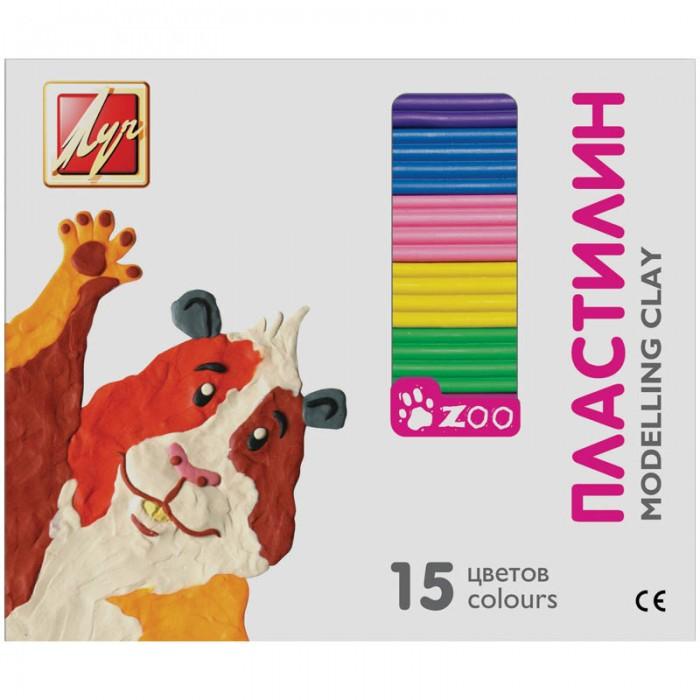 Луч Пластилин ZOO 15 цветов 203 грПластилин ZOO 15 цветов 203 грПредназначен для занятий лепкой. Развивает детскую микромоторику и творческие способности. Пластилиновая масса не имеет запаха, не вызывает аллергических реакций, не токсична. В набор входят 15 брусочков различных цветов.<br>