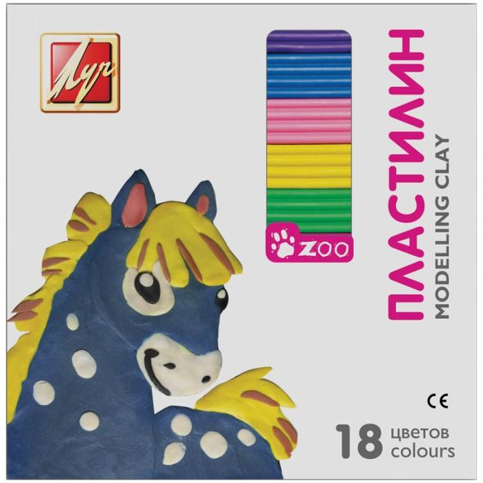 Луч Пластилин ZOO 18 цветов 243 грПластилин ZOO 18 цветов 243 грПредназначен для занятий лепкой. Развивает детскую микромоторику и творческие способности. Пластилиновая масса не имеет запаха, не вызывает аллергических реакций, не токсична. В набор входят 18 брусочков различных цветов.<br>