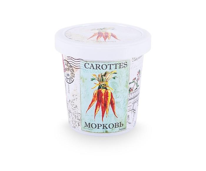 Rostokvisa Набор для выращивания МорковьНабор для выращивания МорковьНабор для выращивания Морковь это экологически чистая продукция, без добавления химикатов, абсолютно безопасная для детей.  Пластиковый горшок в винтажном стиле легко впишется в интерьер. А процесс выращивания растений в домашних условиях непременно увлечет ребенка.  В набор входят: Горшок из плотного пластика с утонченным декором, высотой 12 см.<br>