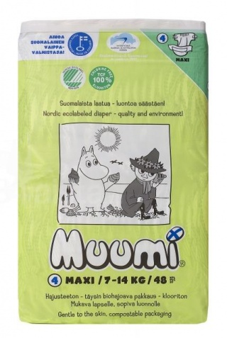 Подгузники Muumi Подгузники Макси (7-14 кг) 48 шт.