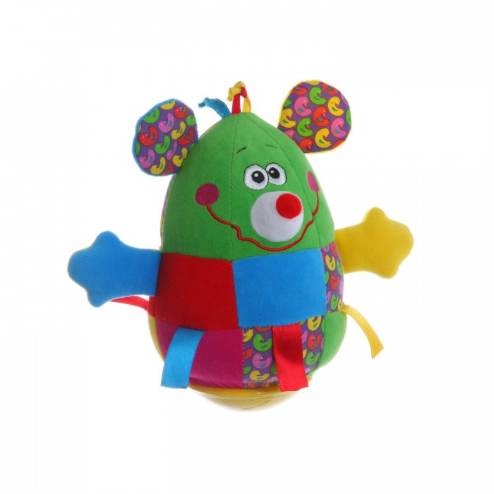 Развивающая игрушка Bondibon Неваляшка Мышь 19 см Неваляшка Мышь 19 см ВВ1283