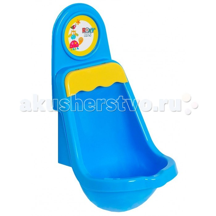 Горшки Roxy Детский писсуар на присоске в ванную комнату