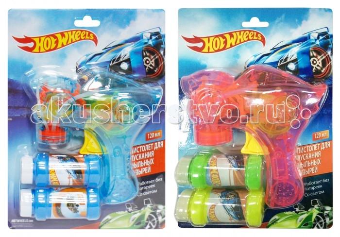 1 Toy Пистолет с мыльными пузырями Hot Wheels от Акушерство