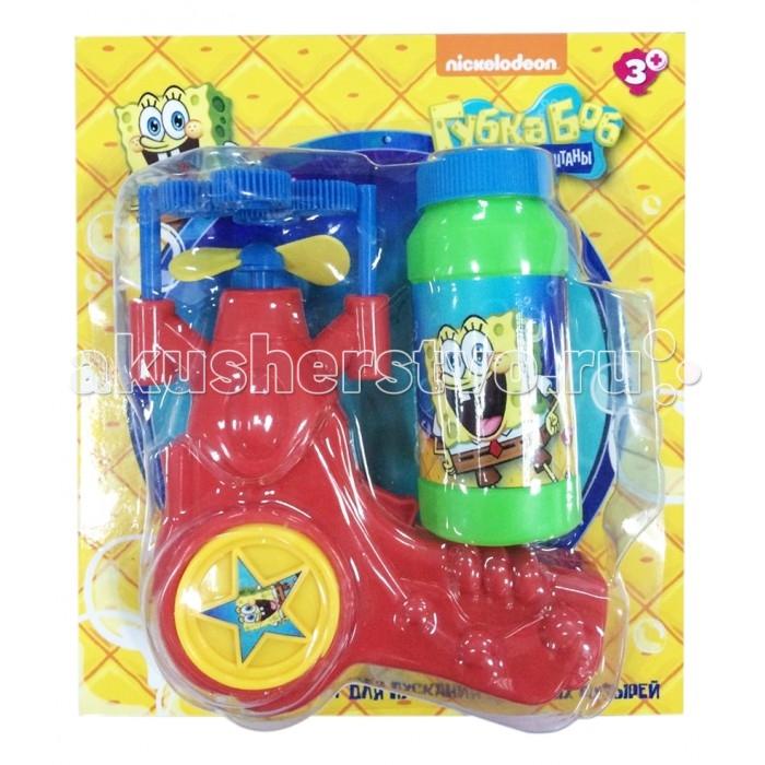 1 Toy Пистолет с мыльными пузырями Губка БобПистолет с мыльными пузырями Губка БобМыльные пузыри - это отличный способ порадовать ребенка разноцветными, переливающимися шарами.   Мыльные пузыри доставят море удовольствия Вашим детям.  В наборе присутствуют ёмкость для раствора, пистолет на батарейках для выдувания пузырей.  Также в комплекте бутылочка 120 мл. с мыльным раствором.  Мыльный раствор нетоксичен, он не вызывает у детей раздражение и аллергию.<br>
