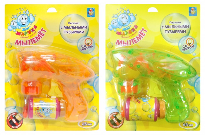 1 Toy Мыльные пузыри Мы-шарики! Т58738 от Акушерство