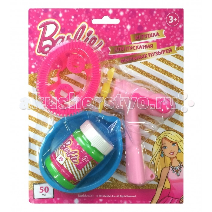 1 Toy Набор мыльных пузырей Barbie от Акушерство