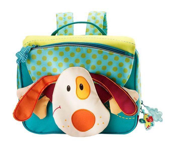Lilliputiens Дошкольный рюкзак Собачка Джеф А5Дошкольный рюкзак Собачка Джеф А5Lilliputiens Собачка Джеф: дошкольный рюкзак А5.  Дошкольный рюкзак Собачка Джеф А5 с удовольствием сопровождает маленьких исследовательниц как в начальную школу, так и в детский сад. Этот школьный портфель удобный, практичный и очень забавный! В портфеле несколько удобных отделений. С этим ранцем можно не бояться выйти на улицу в любую погоду.   Портфелю нипочем даже молочные и шоколадные ливни, потому что он полностью выполнен из водонепроницаемой ткани. Портфель имеет регулируемые лямки и петельку для вешалки, а также прозрачный кармашек, куда можно вставить карточку с именем или фотографию ребенка. Страна происхождения бренда: Бельгия. Источник:<br>