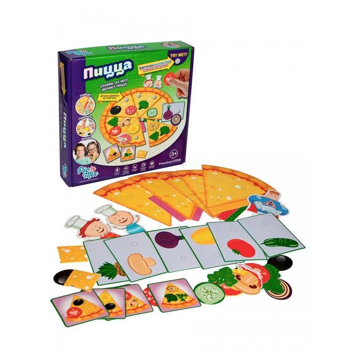 Pic`n Mix Игра настольная развивающая Аркадий Паровозов Пицца