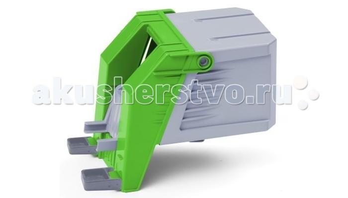 Multigo Кузов мусоровозаКузов мусоровозаMultigo Кузов мусоровоза. Современный контейнер для сборки отходов предлагает 2 варианта опрокидывания и подножку для возможности установки фигурок из мира POKEETO. Два мусорных бака включены в набор.    Специальная система MultiGO позволяет детям легко менять и добавлять различные игровые аксессуары. Одна игрушка легко преобразуется в другую. Основание грузовиков является базой, на которую могут крепиться различные игровые элементы. Кабина также имеет открытую крышу, а значит, туда очень удобно помещать фигурки персонажей из мира Igracek.<br>