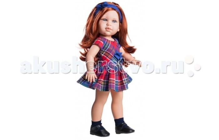 Paola Reina Кукла Бекка 42 смКукла Бекка 42 смPaola Reina Кукла Бекка 42 см   Миловидное личико, шелковистые волосы и яркий наряд – вот то, что ценится в любой кукле. Бекка наделена всеми этими качествами!   Особенности: У куклы Paola Reina нежный ванильный аромат.  Уникальный и неповторимый дизайн лица и тела. Ручная работа (ресницы, веснушки, щечки, губы, прическа). Волосы легко расчесываются и блестят. Глазки не закрываются. Ручки, ножки и голова поворачиваются.  Качество подтверждено нормами безопасности EN71 ЕЭС.   Материалы: кукла изготовлена из винила глаза выполнены в виде кристалла из прозрачного твердого пластика волосы сделаны из высококачественного нейлона.<br>