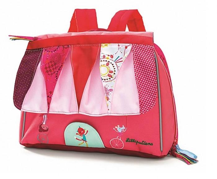 Lilliputiens Дошкольный рюкзак Цирк Шапито A5Дошкольный рюкзак Цирк Шапито A5Lilliputiens Цирк Шапито: дошкольный рюкзак A5.  Дошкольный рюкзак Цирк Шапито А5 с удовольствием сопровождает маленьких исследовательниц как в начальную школу, так и в детский сад. Этот школьный портфель удобный, практичный и очень забавный! В портфеле несколько удобных отделений. С этим ранцем можно не бояться выйти на улицу в любую погоду.<br>
