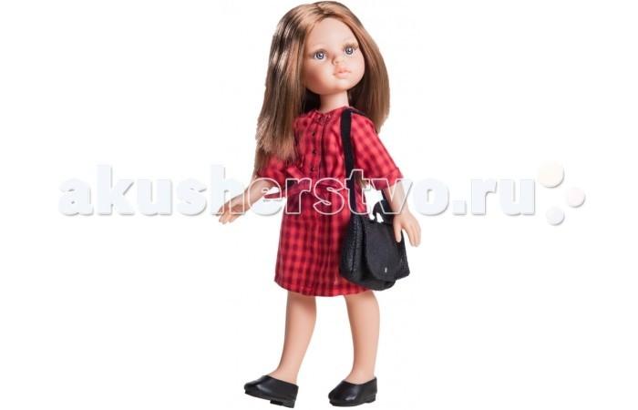 Paola Reina Кукла Кэрол 04500 32 смКукла Кэрол 04500 32 смPaola Reina Кукла Кэрол 32 см - яркая стильная игрушка, которая обязательно понравится каждой девочке и станет ее лучшей подружкой.   Миловидное личико, шелковистые волосы и яркий наряд – вот то, что ценится в любой кукле. Кэрол наделена всеми этими качествами!   Особенности: У куклы Paola Reina нежный ванильный аромат.  Уникальный и неповторимый дизайн лица и тела. Ручная работа (ресницы, веснушки, щечки, губы, прическа). Волосы легко расчесываются и блестят. Глазки не закрываются. Ручки, ножки и голова поворачиваются.  Качество подтверждено нормами безопасности EN71 ЕЭС.   Материалы: кукла изготовлена из винила глаза выполнены в виде кристалла из прозрачного твердого пластика волосы сделаны из высококачественного нейлона.<br>