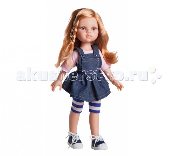 Paola Reina Кукла Даша 32 смКукла Даша 32 смPaola Reina Кукла Даша 32 см - яркая стильная игрушка, которая обязательно понравится каждой девочке и станет ее лучшей подружкой.   Миловидное личико, шелковистые волосы и яркий наряд – вот то, что ценится в любой кукле. Даша наделена всеми этими качествами!   Особенности: У куклы Paola Reina нежный ванильный аромат.  Уникальный и неповторимый дизайн лица и тела. Ручная работа (ресницы, веснушки, щечки, губы, прическа). Волосы легко расчесываются и блестят. Глазки не закрываются. Ручки, ножки и голова поворачиваются.  Качество подтверждено нормами безопасности EN71 ЕЭС.   Материалы: кукла изготовлена из винила глаза выполнены в виде кристалла из прозрачного твердого пластика волосы сделаны из высококачественного нейлона.<br>