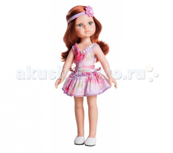Paola Reina Кукла Кристи 32 смКукла Кристи 32 смPaola Reina Кукла Кристи 32 см - яркая стильная игрушка, которая обязательно понравится каждой девочке и станет ее лучшей подружкой.   Миловидное личико, шелковистые волосы и яркий наряд – вот то, что ценится в любой кукле. Кристи наделена всеми этими качествами!   Особенности: У куклы Paola Reina нежный ванильный аромат.  Уникальный и неповторимый дизайн лица и тела. Ручная работа (ресницы, веснушки, щечки, губы, прическа). Волосы легко расчесываются и блестят. Глазки не закрываются. Ручки, ножки и голова поворачиваются.  Качество подтверждено нормами безопасности EN71 ЕЭС.   Материалы: кукла изготовлена из винила глаза выполнены в виде кристалла из прозрачного твердого пластика волосы сделаны из высококачественного нейлона.<br>