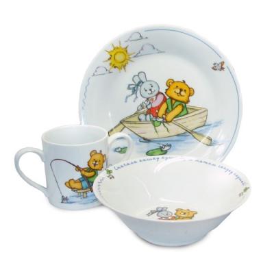 Посуда Maman Набор детской фарфоровой посуды