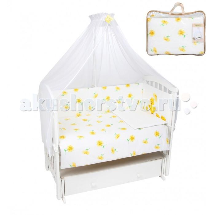 Комплект в кроватку Leader Kids Утята (7 предметов)