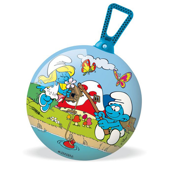 Мячи и прыгуны Mondo Мяч-попрыгунчик Cмурфы 45 см