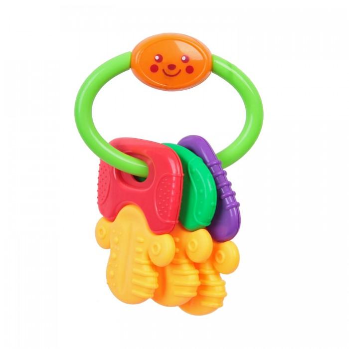 Погремушка Bondibon КлючикиКлючикиРазвивающая погремушка, Ключики.  Яркие игрушки и погремушки ТМ BABY YOU BONDIBON формируют тактильные ощущения, восприятие звуков, цветов и форм. Посредством игры эти игрушки развивают мелкую моторику и воображение Вашего ребенка.<br>