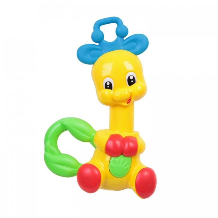 Погремушка Bondibon ОлененокОлененокРазвивающая погремушка, Олененок.  Яркие игрушки и погремушки ТМ BABY YOU BONDIBON формируют тактильные ощущения, восприятие звуков, цветов и форм. Посредством игры эти игрушки развивают мелкую моторику и воображение Вашего ребенка.<br>