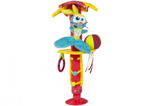 Подвесная игрушка Babymoov в автомобильв автомобильИгрушка в автомобиль Babymoov позволит ребенку получить удовольствие и развивает мелкую моторику.  Размеры: 15 см х 9 см х 37 см<br>