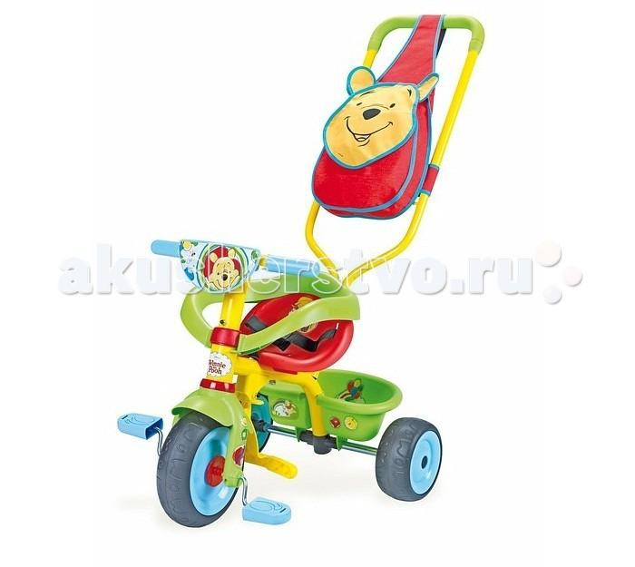 Велосипед трехколесный Smoby Be Fun Confort Winnie