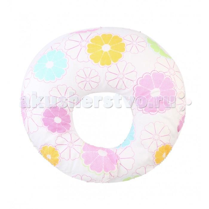 Leader Kids Подушка для кормления Цветы-пэчворк