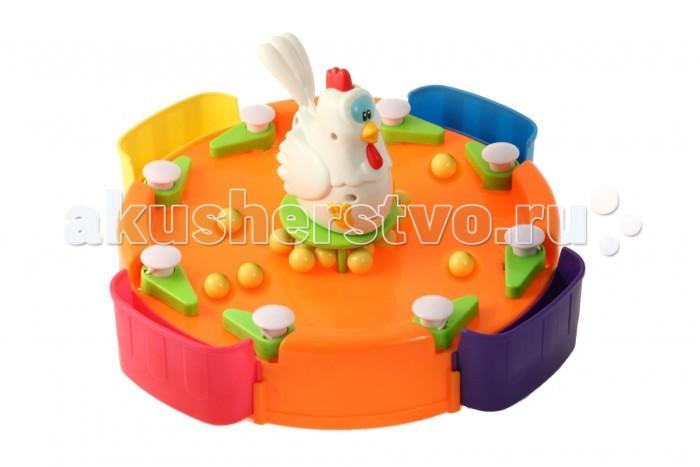 Маленький гений Настольная игра Веселая курица