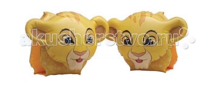 Intex Нарукавники Король лев