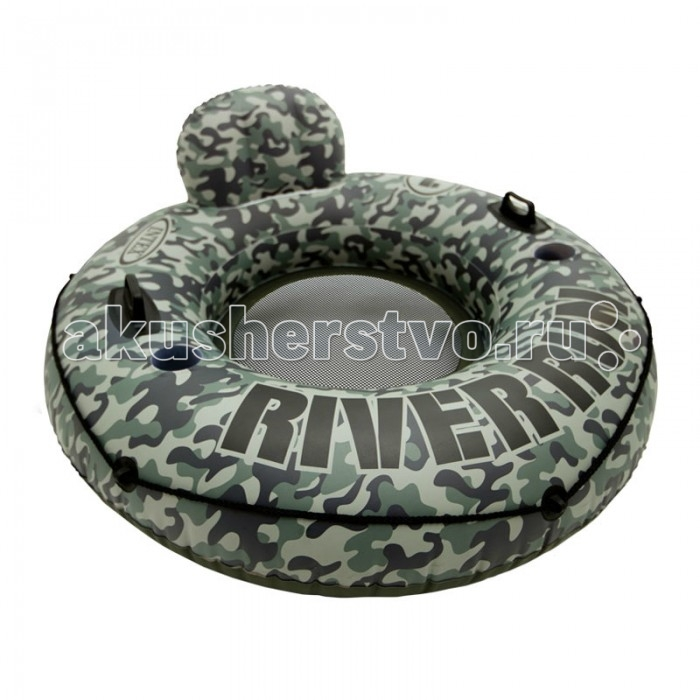 Intex Круг надувной Ривер 134 см