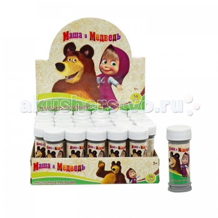 1 Toy Мыльные пузыри Маша и Медведь 50 мл