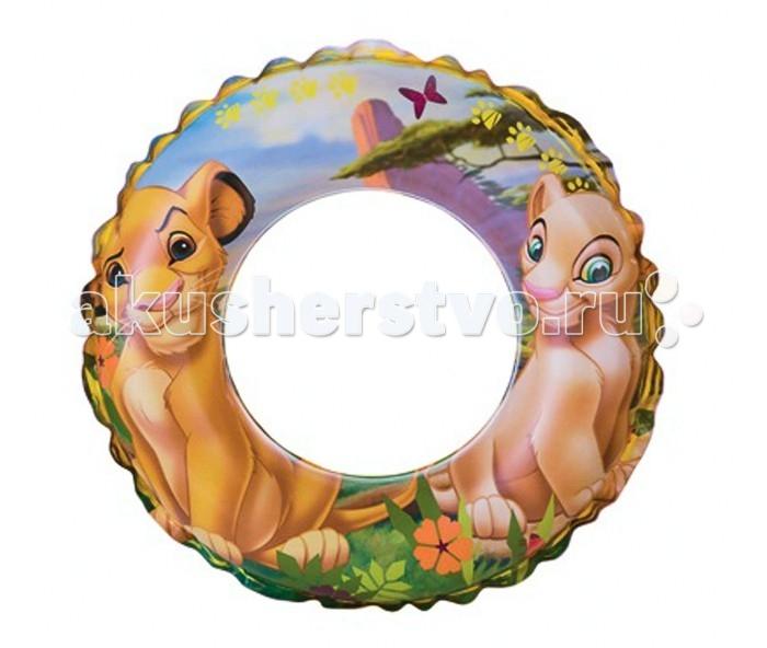 Intex Надувной круг Король лев 61 см
