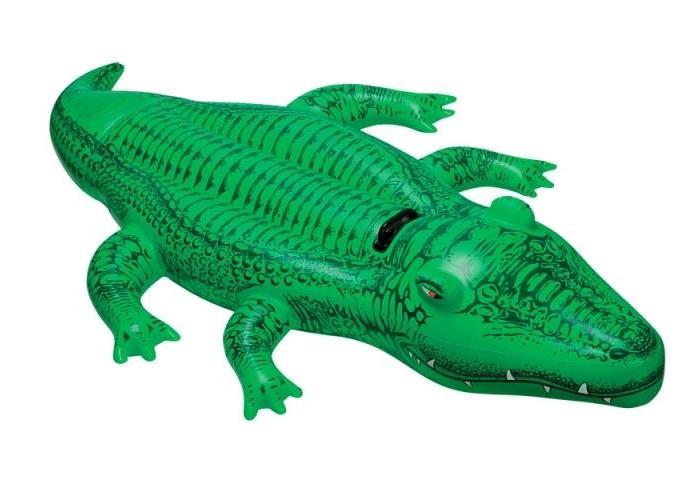 Intex Надувной Крокодил с ручками