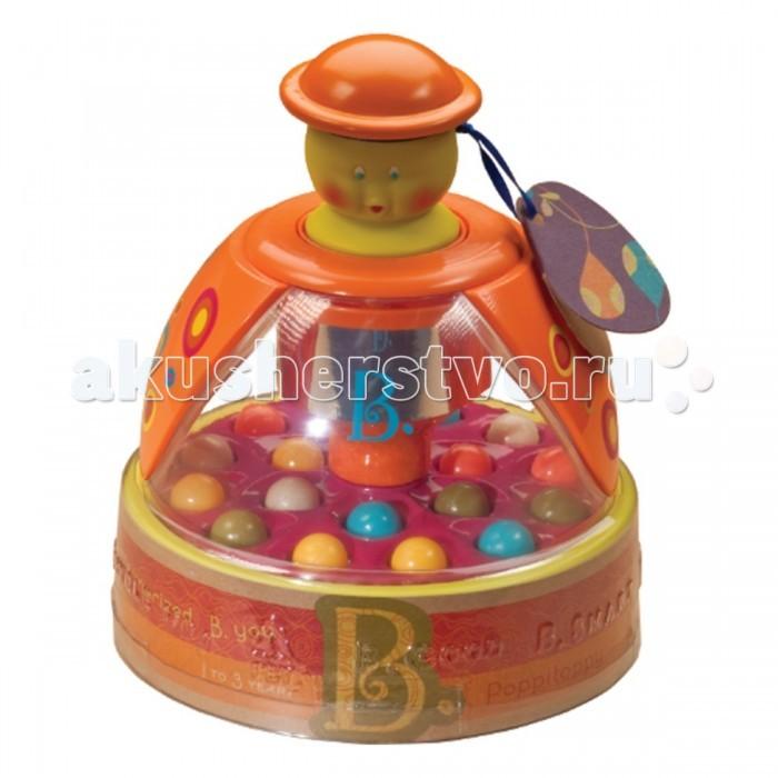 Развивающая игрушка Battat Юла Прыгающие шарикиЮла Прыгающие шарикиРазвивающая игрушка Battat Юла Прыгающие шарики это веселые прыгающие шарики, которые неизменно будут приводить ребенка в неописуемый восторг.   Нажмите на голову игрушки и шарики начнут весело подпрыгивать.   Модель изготовлена из прочного, безопасного для здоровья пластика.<br>