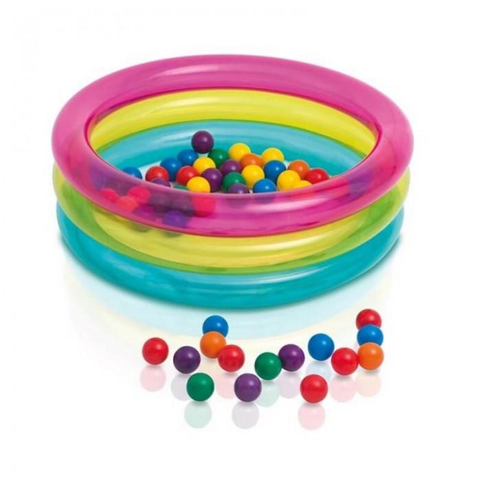 Intex Надувной бассейн с шариками от Акушерство