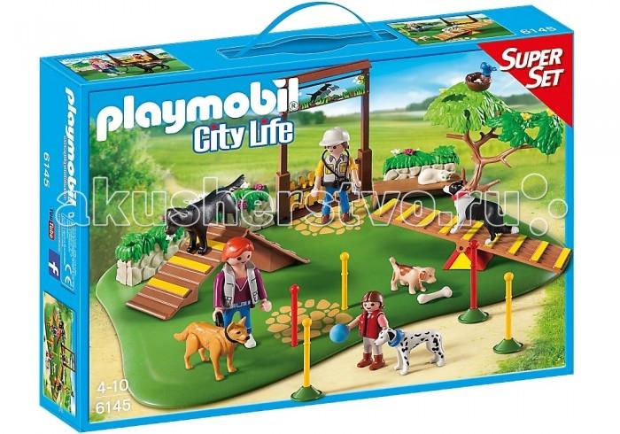 Конструктор Playmobil Супер набор: Дрессировка собак