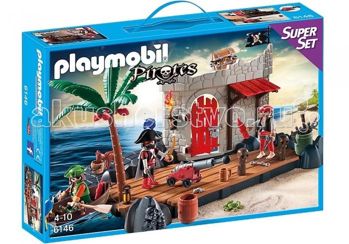 Конструктор Playmobil Супер набор: Пиратский форт