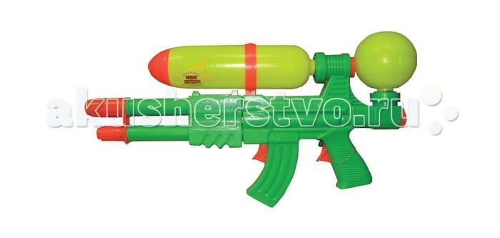 Тилибом Водный пистолет с 2 отверстиямиВодный пистолет с 2 отверстиямиТилибом Водный пистолет с 2 отверстиями, 2 курками и помпой 49х26 см - для веселых игр с водой в жаркую, летнюю погоду!  С ним можно интересно провести летний жаркий день и устроить веселые водные сражения.  Стоит только нажать на курок водного пистолета, как выстрелит тонкая струя воды, поразив противника. Это будет очень весело и не оставит без внимания ни одного мальчугана. Ребята будут хоть целый день бегать и прыгать, играя с водным пистолетом, заодно становясь сильнее, быстрее и ловчее, а также развивая моторику, быстроту реакции и координацию движений, внимательность.<br>