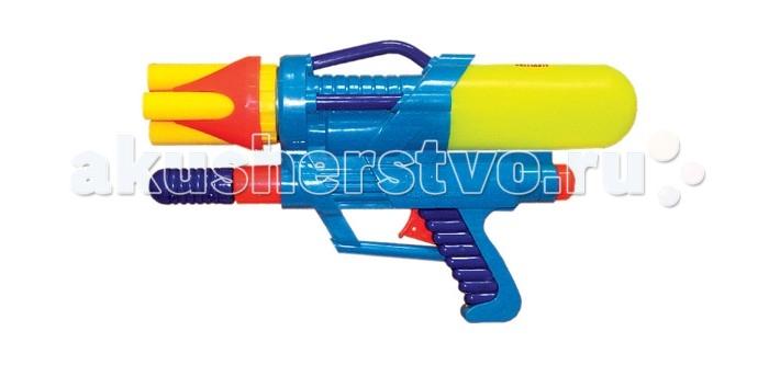 Тилибом Водный пистолет с помпойВодный пистолет с помпойТилибом Водный пистолет с помпой 35.5х20х7.5 см - для веселых игр с водой в жаркую, летнюю погоду!  С ним можно интересно провести летний жаркий день и устроить веселые водные сражения.  Стоит только нажать на курок водного пистолета, как выстрелит тонкая струя воды, поразив противника. Это будет очень весело и не оставит без внимания ни одного мальчугана. Ребята будут хоть целый день бегать и прыгать, играя с водным пистолетом, заодно становясь сильнее, быстрее и ловчее, а также развивая моторику, быстроту реакции и координацию движений, внимательность.<br>