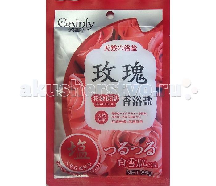 Gainly Соль для тела SPA Нежная роза 85 г от Акушерство