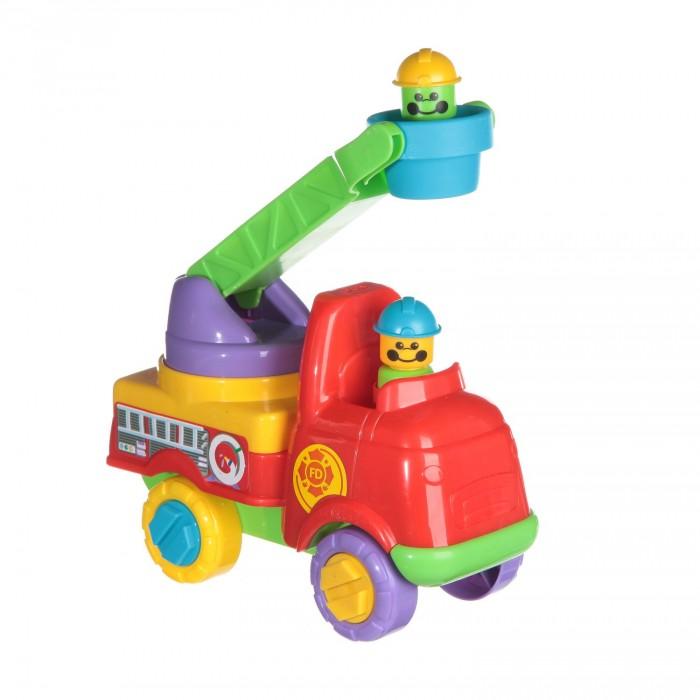 Fun Time Пожарная машина 5054Пожарная машина 5054Fun Time Пожарная машина 5054 представляет собой яркую машинку, за рулем которой сидит улыбчивый водитель. В машинке предусмотрен подъемник с ковшом, который можно опускать и поднимать.  Игрушка с таким количеством ярких цветов понравится вашему малышу. Отлично подойдет для развития моторики и логического мышления ребенка.<br>