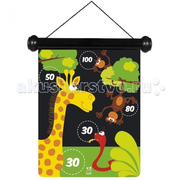 Scratch   Дартс ЗоопаркДартс ЗоопаркScratch Дартс Зоопарк.  Дартс Зоопарк состоит из 6-ти магнитных дротиков и из красочной двухсторонней картинки. Игра развивает мелкую моторику, внимательность и целеустремлённость.<br>