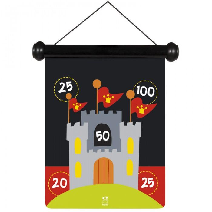 Scratch   Дартс РыцарьДартс Рыцарьstrong>Scratch Дартс Рыцарь.  Дартс Рыцарь для настоящих и храбрых мужчин. Дартс состоит из магнитных дротиков и яркой двухсторонней картинки. Веселая и совершенно безопасная игра для детей всех возрастов!<br>