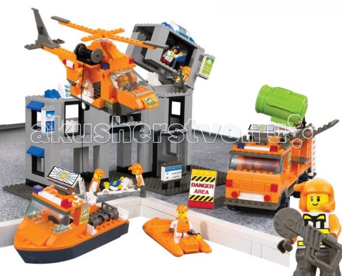Конструктор Sluban BOX SRS Rescue Team Порт M38-B0107R (692 элемента)BOX SRS Rescue Team Порт M38-B0107R (692 элемента)Конструктор Sluban BOX SRS Rescue Team Порт M38-B0107R (692 элемента). Сборная модель, состоящая из 692 детали, которая станет не только занимательным развлечением для ребенка, но и окажет помощь в развитии таких необходимых навыков, как усидчивость, терпение и сосредоточенность.  Красочные детали для сборки без особого труда скрепляются между собой, прочно держатся и которые можно собирать и разбирать многократно.   Конструктор познакомит ребенка с определениями цвета и формы, даст начальные представления о конструировании, а также научит понимать различие между не подходит и подходит.<br>