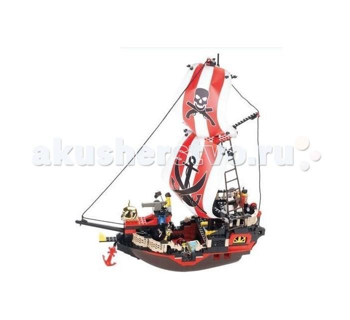 Конструктор Sluban Корабль M38-B0127R (379 элементов)Корабль M38-B0127R (379 элементов)Конструктор Sluban Корабль M38-B0127R (379 элемента). Сборная модель, состоящая из 379 деталей, которая станет не только занимательным развлечением для ребенка, но и окажет помощь в развитии таких необходимых навыков, как усидчивость, терпение и сосредоточенность.  Красочные детали для сборки без особого труда скрепляются между собой, прочно держатся и которые можно собирать и разбирать многократно.   Конструктор познакомит ребенка с определениями цвета и формы, даст начальные представления о конструировании, а также научит понимать различие между не подходит и подходит.<br>
