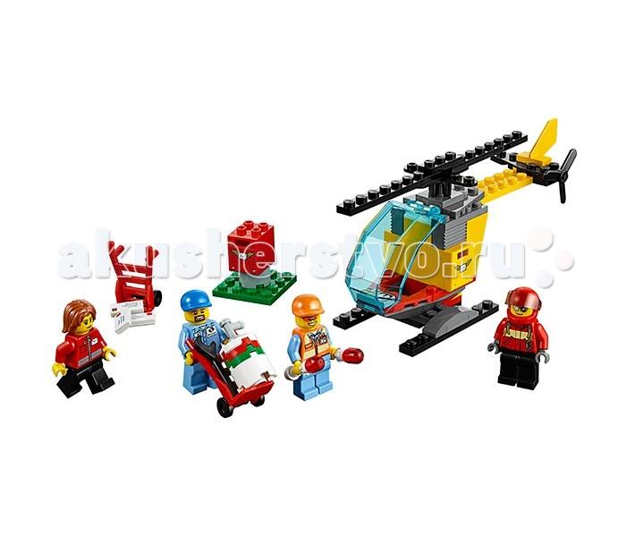 Конструктор Lego Город Набор для начинающих Аэропорт