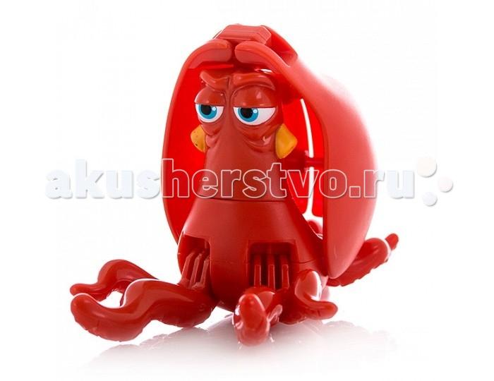 EggStars Яйцо-трансформер ХэнкЯйцо-трансформер ХэнкЯйцо-трансформер Хэнк - яркая, необычная игрушка-трансформер яйцо, превращающаяся в любимого героя нового полнометражного анимационного фильма для детей «В поисках Дори»  Дружелюбный осьминог по имени Хэнк – один из персонажей мультфильма, с которым нам предстоит познакомиться в самое ближайшее время. Игрушка, выполненная в виде этого героя в несколько шагов складывается в гладкое яйцо. Малыш сможет собирать и разбирать игрушку самостоятельно, в игровой форме получая навыки простой трансформации одного предмета в другой, тренируя моторику пальчиков, совершенствуя логическое мышление и память.   Небольшие размеры игрушки позволяют брать её с собой и играть в любое свободное время, скрасить скучное время в длительной дороге или же собрать целую коллекцию персонажей мультфильма «В поисках Дори». Кроме того, с игрушкой трансформером в режиме рыбки можно играть как с обычной фигуркой.<br>