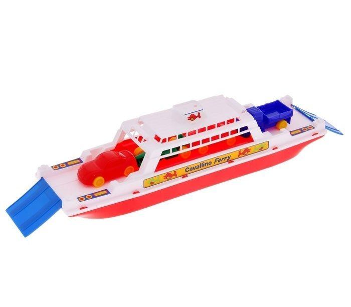 Полесье Паром Балтик+ Автомобиль Мини 4 шт.Паром Балтик+ Автомобиль Мини 4 шт.Полесье Корабль Трансатлантик яркая игрушка, безопасная для детей. В комплекте с паромом - четыре машинки, которые могут заезжать на паром и съезжать с него по специальным откидным трапам. Такая игрушка займет достойное место в комнате любого мальчишки!  Особенности: Прекрасно подойдет для игр вашего малыша в ванной, речке, море, а так же в песочнице. Набор выполнен из безопасных материалов, допустимых в изготовлении товаров для детей. Материал пластик.  Размеры (ДхШхВ): 45 X 12 X 13<br>